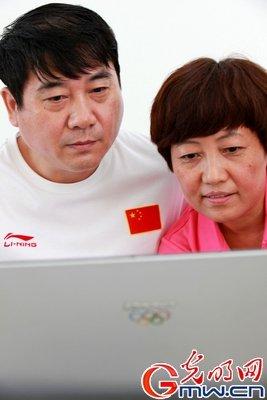 滑县小子杜宇参加伦敦奥运射击比赛 父母牵挂