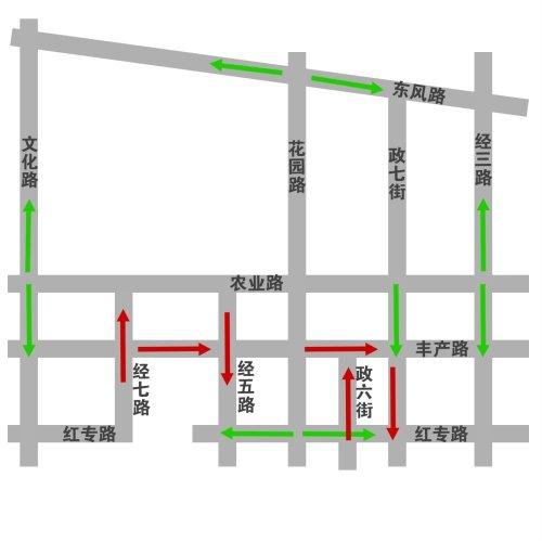 郑州地铁2号线7月底开工 花园路等交通有变