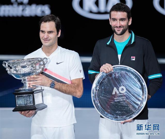 (体育)(21)网球——澳网男单决赛:费德勒夺冠