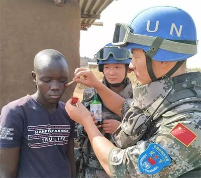 河南小伙被联合国表彰 比战狼2更燃