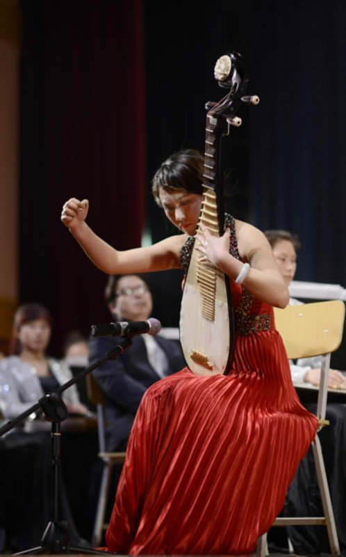 青年琵琶演奏家 陈晛演奏《十面埋伏》