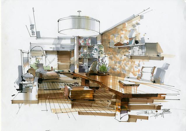 《室内空间快题设计与表现