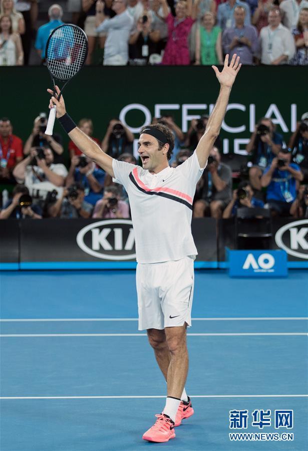 (体育)(22)网球——澳网男单决赛:费德勒夺冠