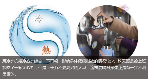生活大爆炸:饮水机的冷热水混喝会怎么样?