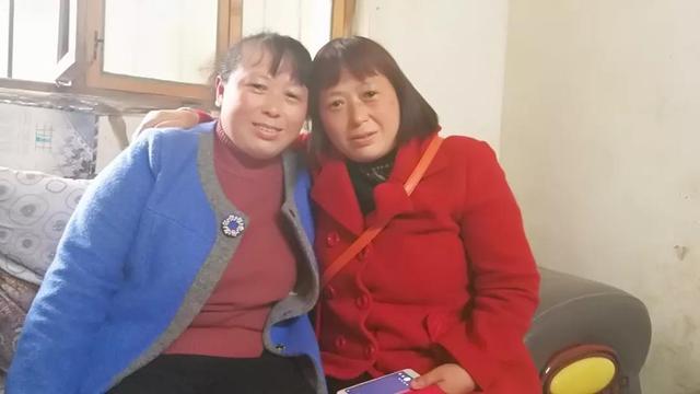 失散40年 双胞胎姐妹在志愿者帮助下郏县重聚