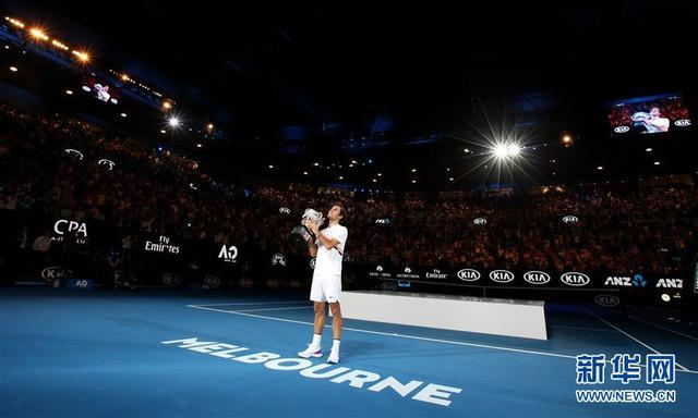 (体育)(10)网球——澳网男单决赛:费德勒夺冠