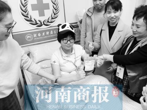 """河南熊猫血女孩捐献""""生命种子"""""""