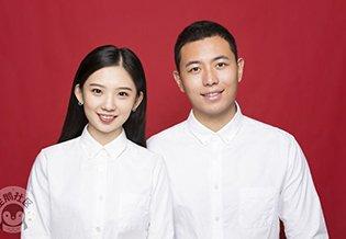 520 郑州新人组团去拍最美结婚证件照