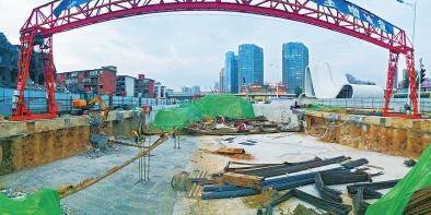 郑州紫荆山路下穿陇海路隧道11月底有望通车