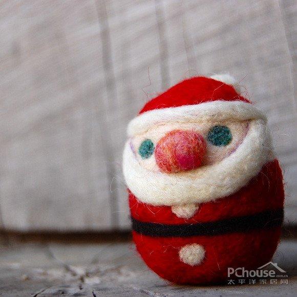 用、圣诞装饰、不倒翁!环保、好看、好玩!这款圣诞老人蛋,是