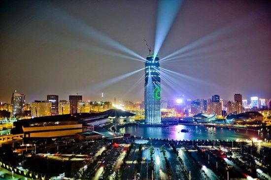 郑州会展宾馆 中央商务区三大标志性建筑之一