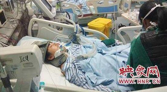 周口女高中生坠床昏迷学校师生捐款被空调扣爱心高中吗有图片