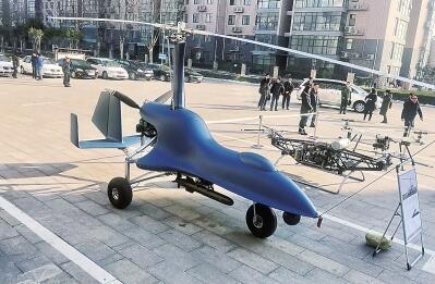 河南消防研发无人机高空灭火 明年完成项目验收