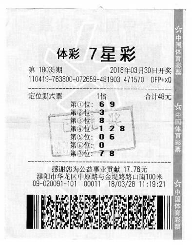 濮阳男子复制好友彩票一起获大奖 各领奖金504万