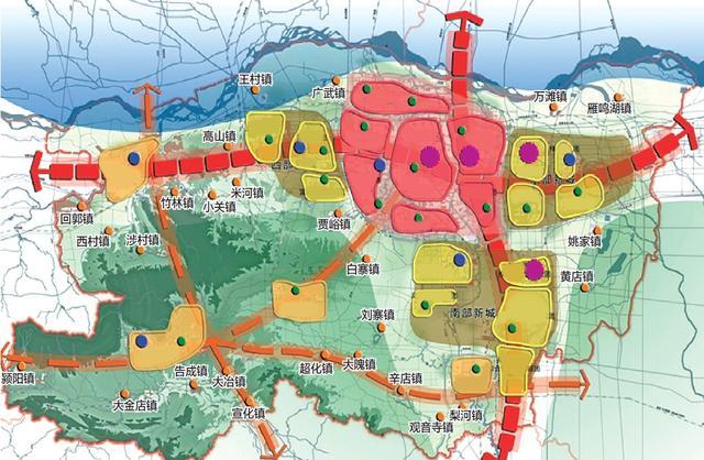 高山镇地图