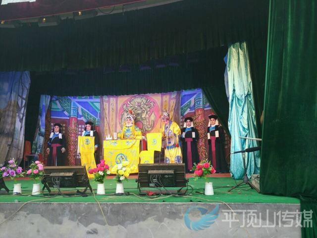 欢迎进入乐虎国际app入口网站平顶山村民创业成功 自发捐款请来10场大戏