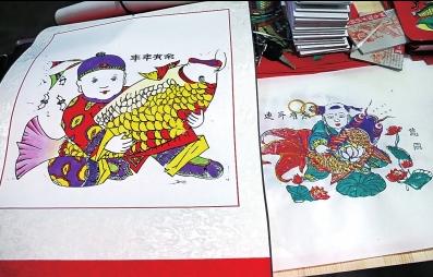 探寻朱仙镇木版年画 神奇木版画千年