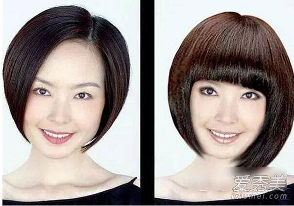 鲁豫新发型真的不算啥 这些女星换发型才堪比换脸! 明星换发型前后