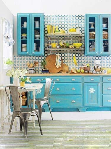 2万装修60平小户型 厨房重在别致又实用高清图片
