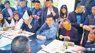 光山县现赌博团伙 流动赌场一天抽头近10万元