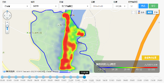 景区手绘地图数据