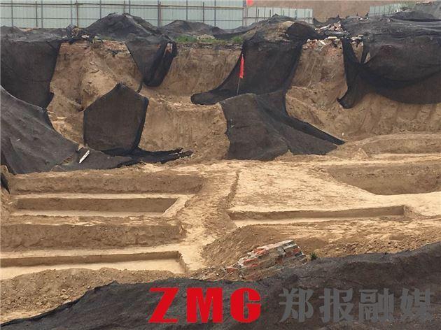 郑州一城中村拆迁后 竟挖出春秋战国古墓群