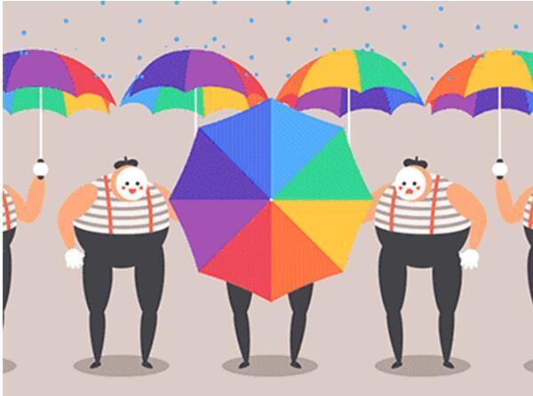 缤纷有约,一伞定【晴】| 晴天见晴雨伞手绘专场清凉来袭