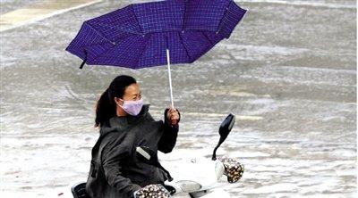 河南首发寒潮预警 今日凌晨郑州最低气温7℃