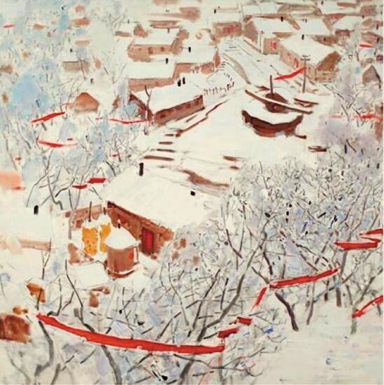 """中国油画的写意化探索:本质是""""写意精神"""""""