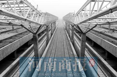 郑州建城际铁路 半小时达中原城市群内任一城市