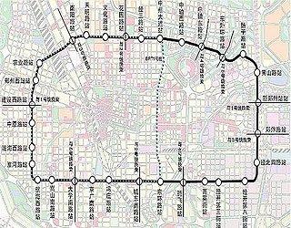 郑州地铁五号线线路图-郑州地铁时代进入倒计时图片