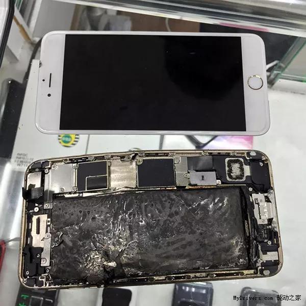 又惹祸 用iPad充电器iPhone6 Plus炸了