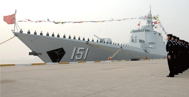 """海军""""郑州舰""""入东海舰队"""