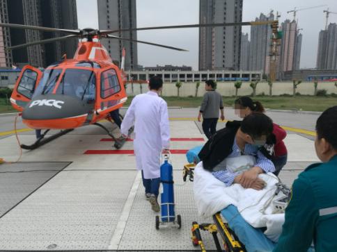 金汇通航跨越豫苏两地700公里,成功转运肺移植患者