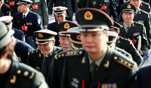 中外瞩目的解放军高级将领调整