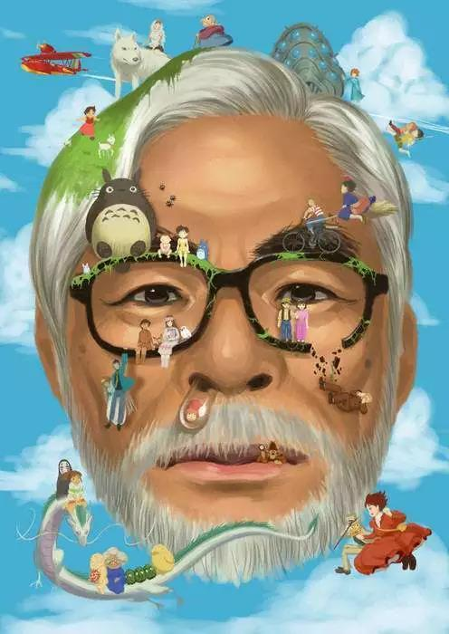宫崎骏爷爷的动漫电影通常都是具有强烈的美感,他能够在一个我们熟悉