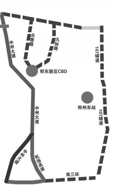 """郑州三环快速路迎首个""""大考"""" 北三环问题最多"""