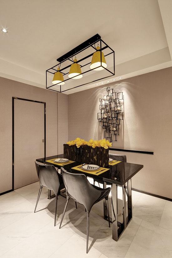 餐厅吊灯布局方式 温馨照明刺激味蕾