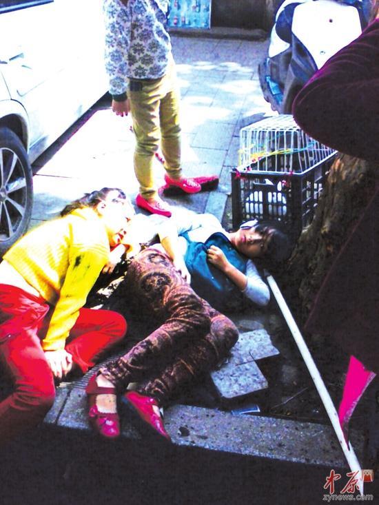 郑州一司机错把油门当刹车撞倒6人致1死5伤