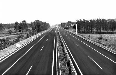 郑民高速全线建成通车 采用双向四车道标准