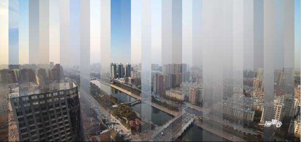 90后小伙记载郑州30天雾霾变更 惊心动魄(图)
