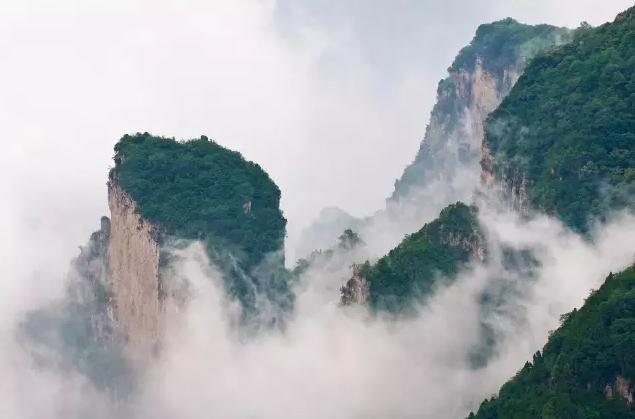 高空+飞艇 森林+瀑布 穿越+猕猴 云台山让你的夏天直降20°C!