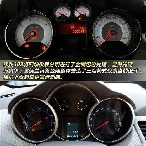 仪表盘方面,两车的仪表排布方式惊人的相似,都采用了两个大高清图片