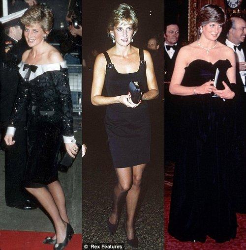 戴安娜王妃旧时礼服 伦敦展出