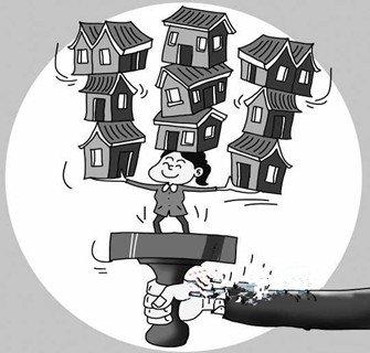 不是房子不够,而是有些人房子太多