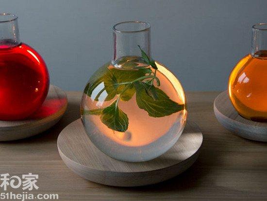 挪威创意液体灯设计; 废物再利用 家居环保灯自己diy - 家居频道