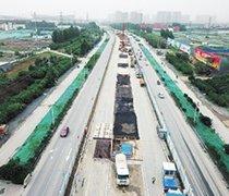 郑州四环线、大河路快速化全面动工 明年6月底前主线建成通车