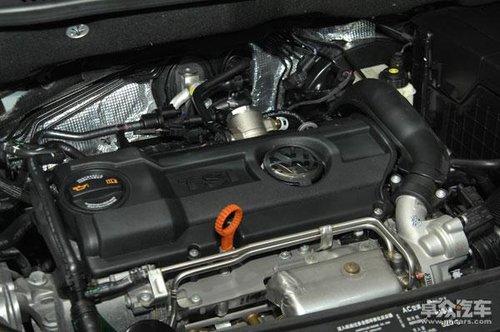 大众途安发动机高清图片