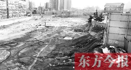郑州业主递了4年钱买房 工地还只是个大坑