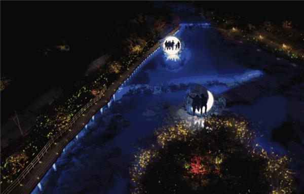 中原首秀!云台山大型光影夜秀将在春节隆重上线!